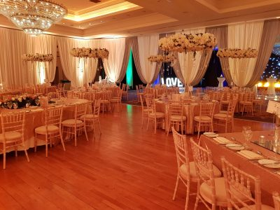 Wedding Drapery at Knightsbrook Hotel Spa and Golf Resort