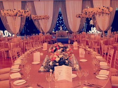 Wedding Drapery at Hotel Spa and Golf Resort